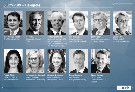 SIBOS 2019 - CACEIS delegates